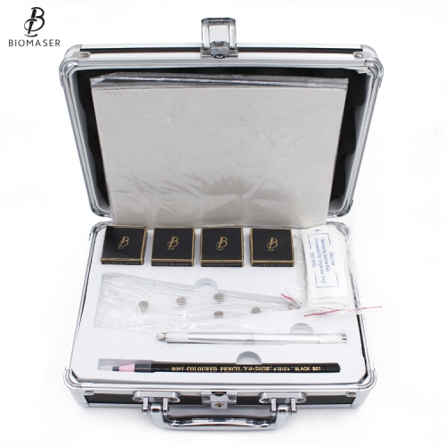 Biomaser Microblading Pigment Permanent Makeup Needles Eyebrow Tattoo Kits Starter Microblading Kit