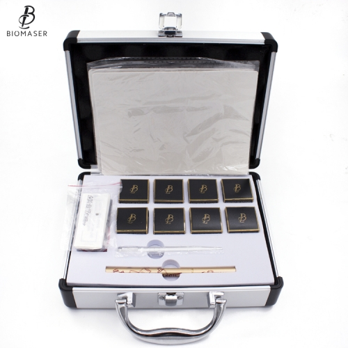 Professional Biomaser 3D Microblading Pigment Kit With Manual Tattoo Machine