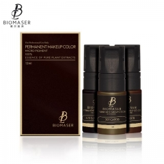 eyebrow Biomaser liquid free from anesthetics pigment ink for Permanent Makeup Micropigmentation Machine Pigment  12ml