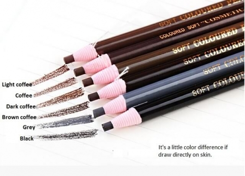 1 pcs Eyebrow Pencil Drawing Eye Brow Pen Peel Off Makeup Cosmetic permanent makeup micro blading tattoo