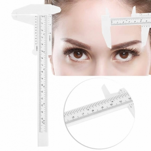 Eyebrow Tattoo Ruler, 8 Types Golden Ratio Eyebrow Ruler for Beginner or Professional User