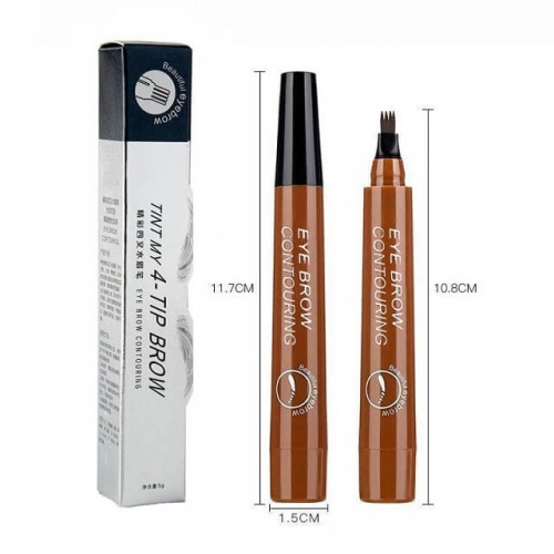 1pcs PMU Suppliers Microblading Eyebrow Pen Waterproof Sweat-proof and Smudge-proof