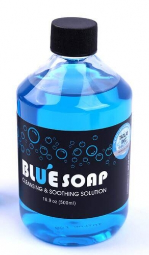 16 oz Cleaning tattoo permanent makeup blue soap,Tattoo Soap Tattoo Aftercare Supply Soothing Healing Solution